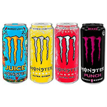 Monster-Energy Drinks Powerade Energy