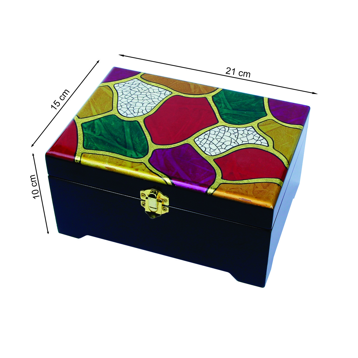 Vietnam Professional Handicraft Lacquer Box Glossy Top Sale Boxes For Jewelry