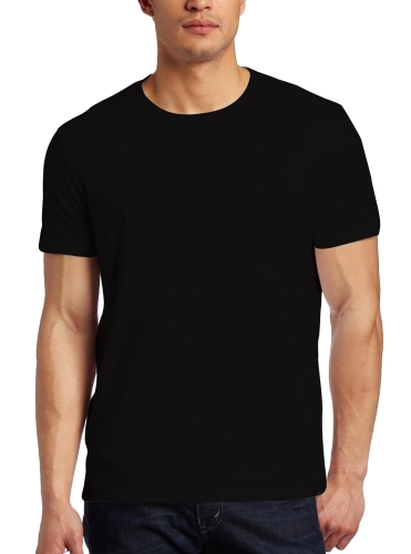 Men's Hot Selling Basic Plain 100% Cotton T-shirt/Wholesale Cheap Crew Neck Short Sleeves T-shirt