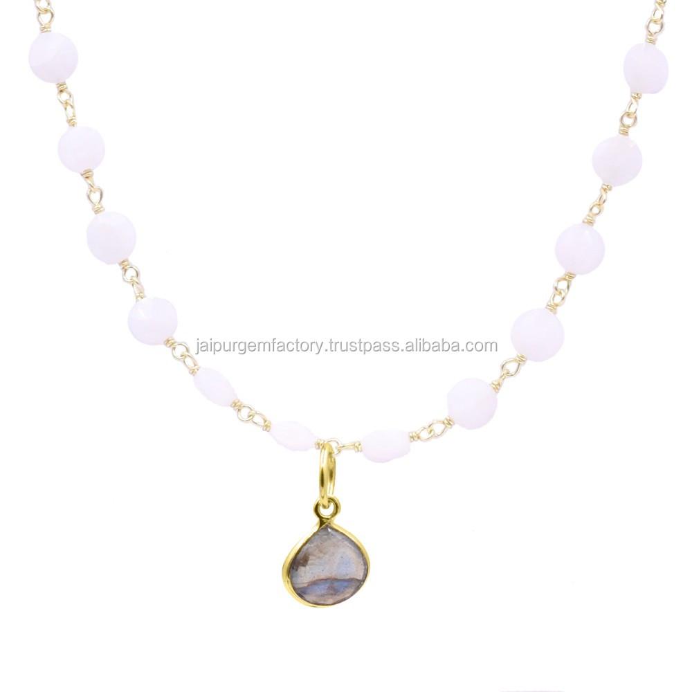 3PC Unique malachite agate Heart-shaped pendant Gemstone Beads necklace
