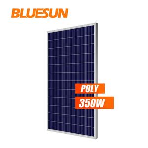 High efficiency solar panel polycrystalline 340w 350w 360watt solar kits on roof