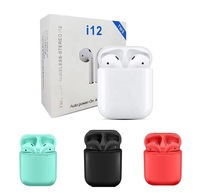 Wireless Bluetooth Earphone with Box Stereo Sound Headphone Mini Earbuds For Smart Phone Available Headphone Bluetooth Earphone