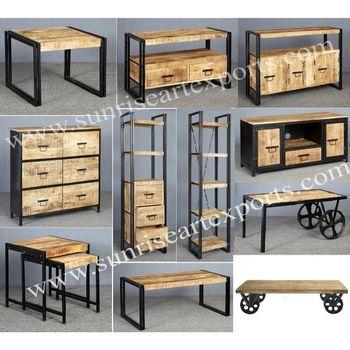 Industrial Vintage Coffee Table Furniture Vintage Industrial
