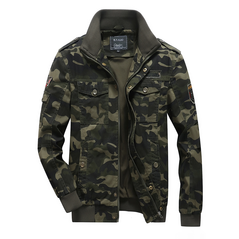 American <strong>military</strong> <strong>style</strong> large size camouflage <strong>jacket</strong> large pocket men's <strong>jacket</strong>.