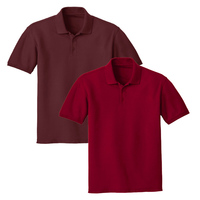 Unisex Short Sleeve Pique Polo Shirt I Polo T Shirt