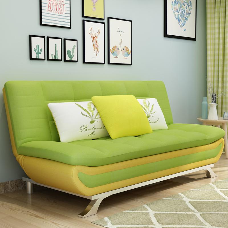 مصنع الجملة أثاث غرفة المعيشة أريكة عالي الجودة السرير الحديثة سرير أريكة قابلة للطي قابلة للطي 2 3 مقاعد جدار سرير مع أريكة