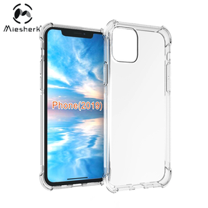 2019 new anti shock phone case for iphone 6.1 wholesale tpu clear back cover