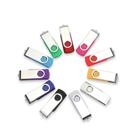 Hot Sale Real Capacity 360 rotation custom usb flash drive