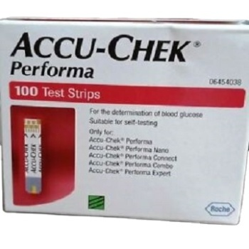 Hot Sales ACCU CHEK PERFORMA (100's Pack) Blood Glucose Test Strips