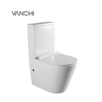 Chaozhou ceramic sanitary ware bathroom white color wc toilet seat