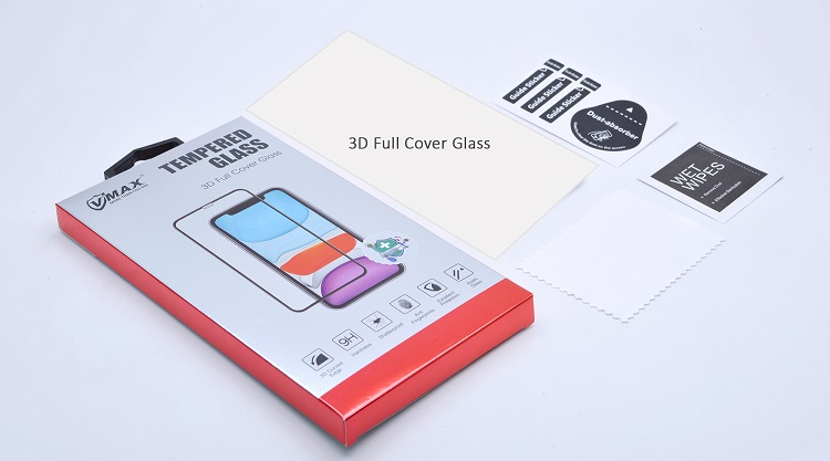 3D good price anti shock hd clear smart touch screen protector for iPhone XR