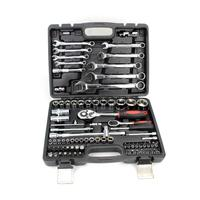 82 pcs Socket Wrench, Combination Spanner Tools Kit, Auto Repair Socket Wrench Tools Set