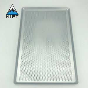 perforated baking tray for food grade stainless steel perforated metal baking sheet pan