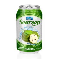 250ml Natural Pure Soursop Fruit Juice