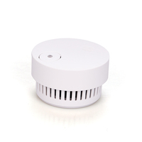 portable lithium battery operated wireless stand alone photoelectric smoke detector tester sensor fire alarm