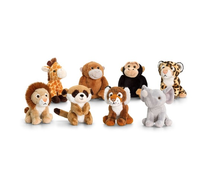 Plush mini animal assortment /different animals series of plush animal