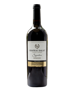 CHATEAU DALAT SIGNATURE CABERNET SAUVIGNON RED WINE 750ml (TOP PREMIUM WINE FROM VIETNAM)