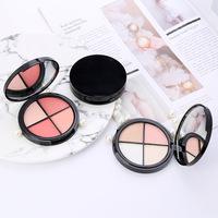 Hot Selling blusher private label 4 color  Matte Palette Blush Face Makeup Professional blusher
