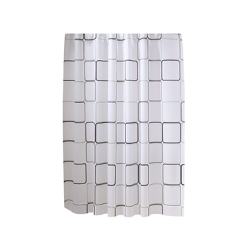Hot sale Eco-Friendly plastic PEVA waterproof shower curtain