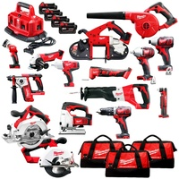 2019 GOOD NEW Milwaukee M18 18V Cordless 15-Piece Combo Kit