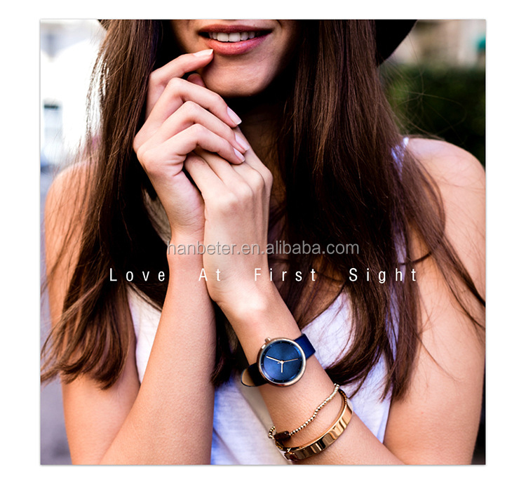 Classic Women Men Luxury Brand Watches Black Rose Gold Hand Minimalist Wristwatches Watches Simple Classic Dial Wrist Watch