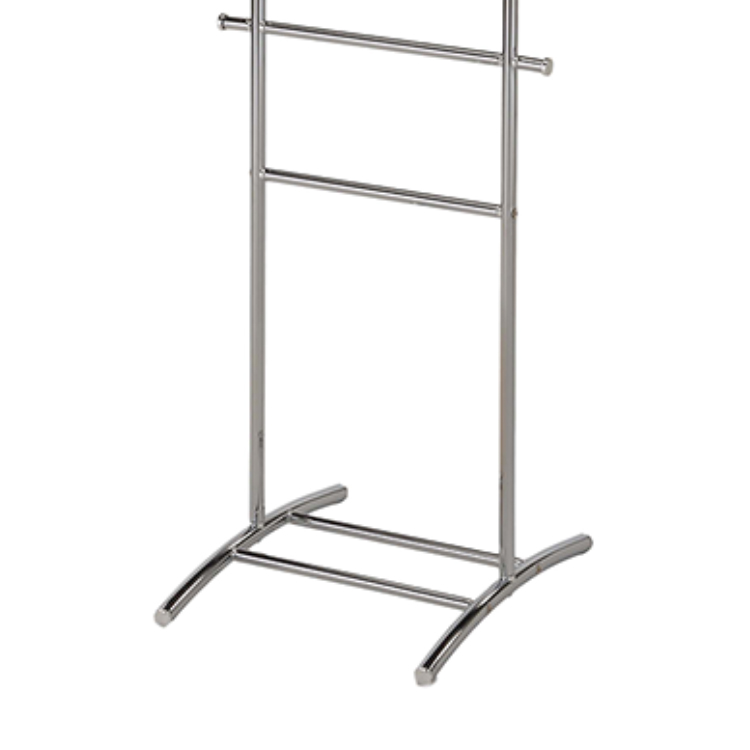 Iron Valet Hanger Stand for Clothes Metal Furniture