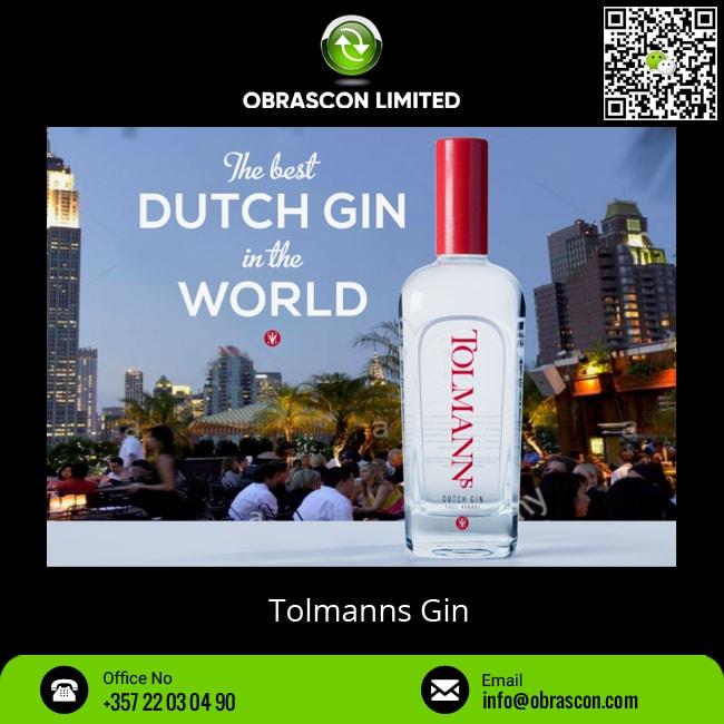 Distilled Netherlands Tolmanns Gin at Bulk Price