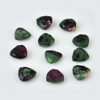 ruby zoisite natural trillion shape 10 mm loose gemstone