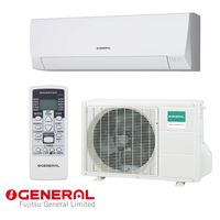 Inverter Air conditioner FUJITSU GENERAL ASHG12LLCC/ AOHG12LLCC with A++ / A+ energy class of cooling/heating