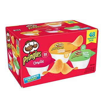Pringles Snack Stacks Bulk Variety Pack Potato <strong>Chips</strong> 48 ct