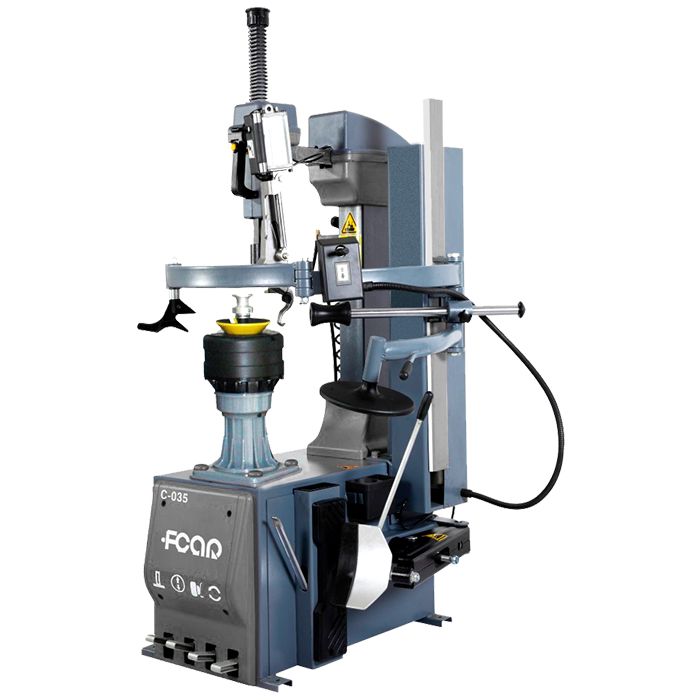 FCAR C-035  automatic leverless tyre changer automatic center postrimlock built-in center clamping cylinder factory direct price