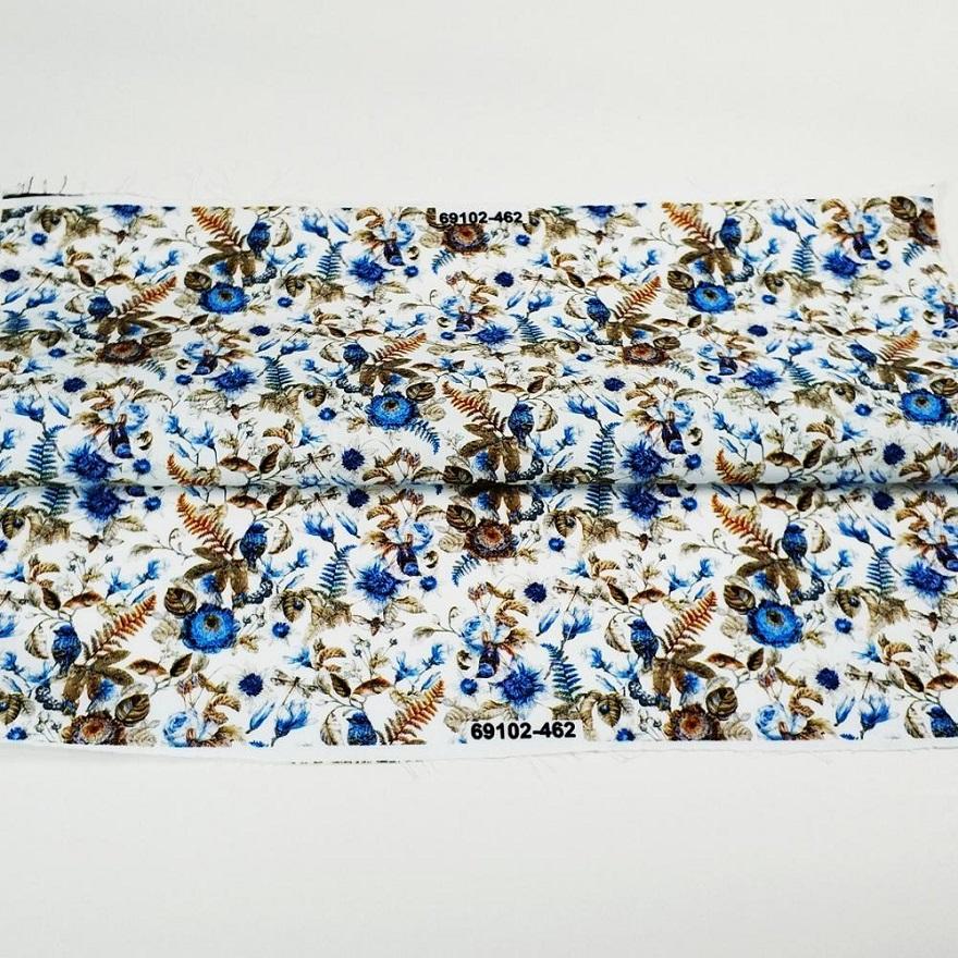 LOW MOQ HIGH QUALITY Soft Finished -Cotton Poplin Digital Textile PrintFabric