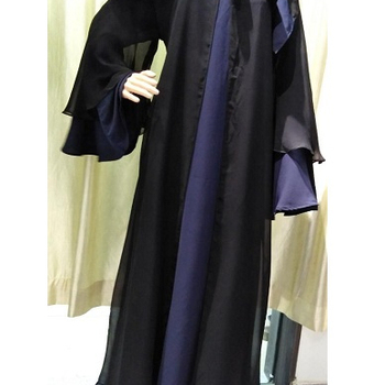 Latest Embroidery Design Muslim Kimono Abaya Free Size Islamic Clothing Soft Fabric Dubai Abaya