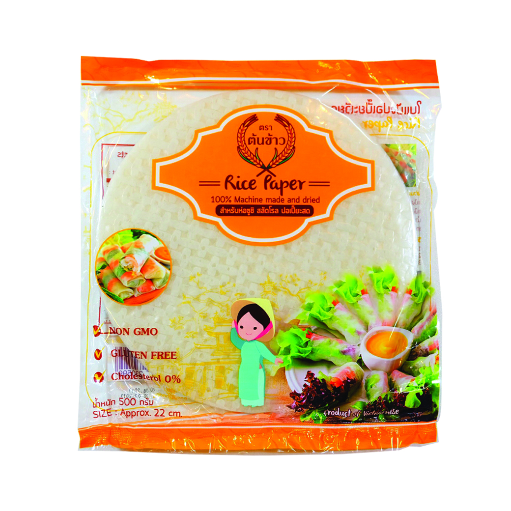 Rice Paper Rolling Vietnamese Best Selling High Quality 100% Rice Paper Premium Brand