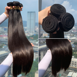 32 34 36 38 Malaysian Indian Straight Cuticle Hair Weave