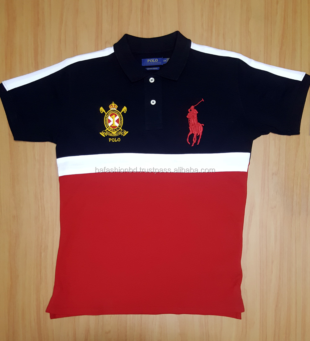 Customs made polo shirt wholesale good quality polo shirt