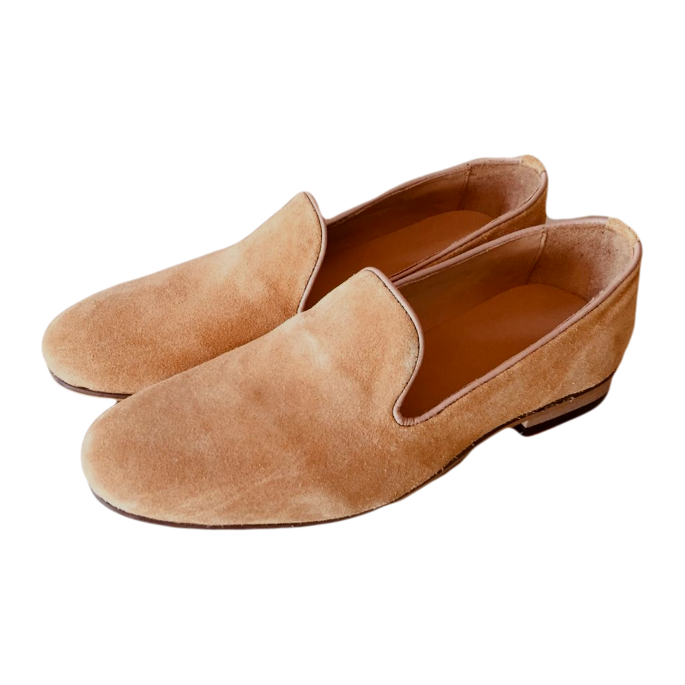 Hot Sale Soft Suede Leather Loafers