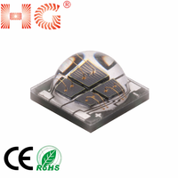 Hot sale 5050 4W 12w ir Ceramic high power led diode 740 800 810 850 940 10000nm 4chips 5050 Ceramic high power ir led