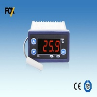 Temperature controller, thermostat, thermometer, FOX-1004, diode sensor FS-100D, 1 relay, power supply 230VAC