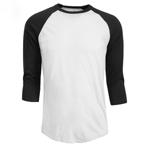 Custom Men's 3/4 sleeve Baseball T Shirt