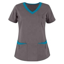 Custom Doctor verpleging uniform scrub sets <span class=keywords><strong>Groothandel</strong></span> <span class=keywords><strong>Medische</strong></span> <span class=keywords><strong>Scrubs</strong></span>