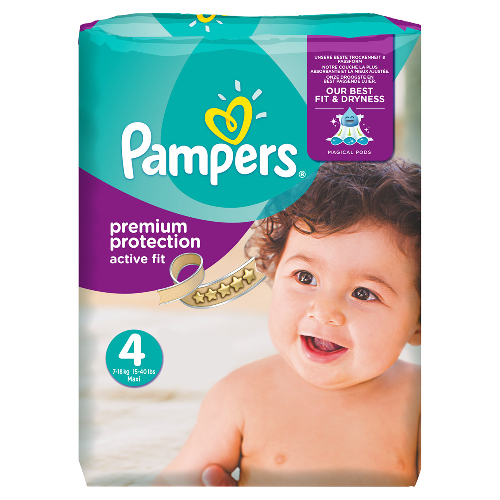 Pampering soft and breathable disposable baby 1