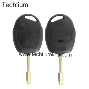 modified 3 button Ford Mondeo remote key shell for Ford lock unlock truck with logo