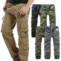 cargo custom stylish cotton pant hiking six 6 pockets casual man army youth work wear all color trouser