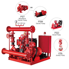NFPA20 standard EDJ fire fighting pump with electric and diesel and jockey pump set from purity fire pump group system