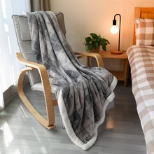 Kingsize-bett Super Starke Buffalo Plaid Plüsch Werfen Flanell Fleece Decke