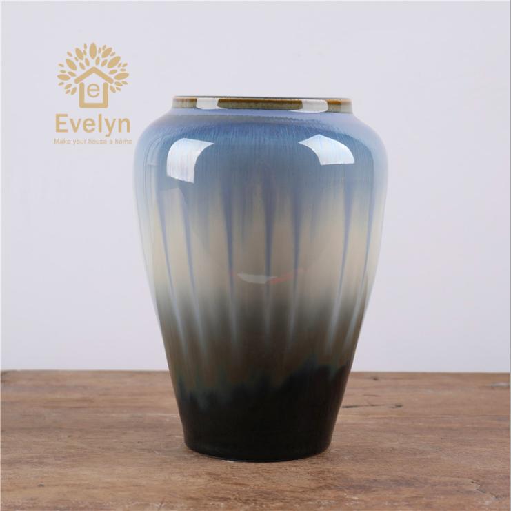 Современные фарфоровые напольные вазы под старину для украшения дома