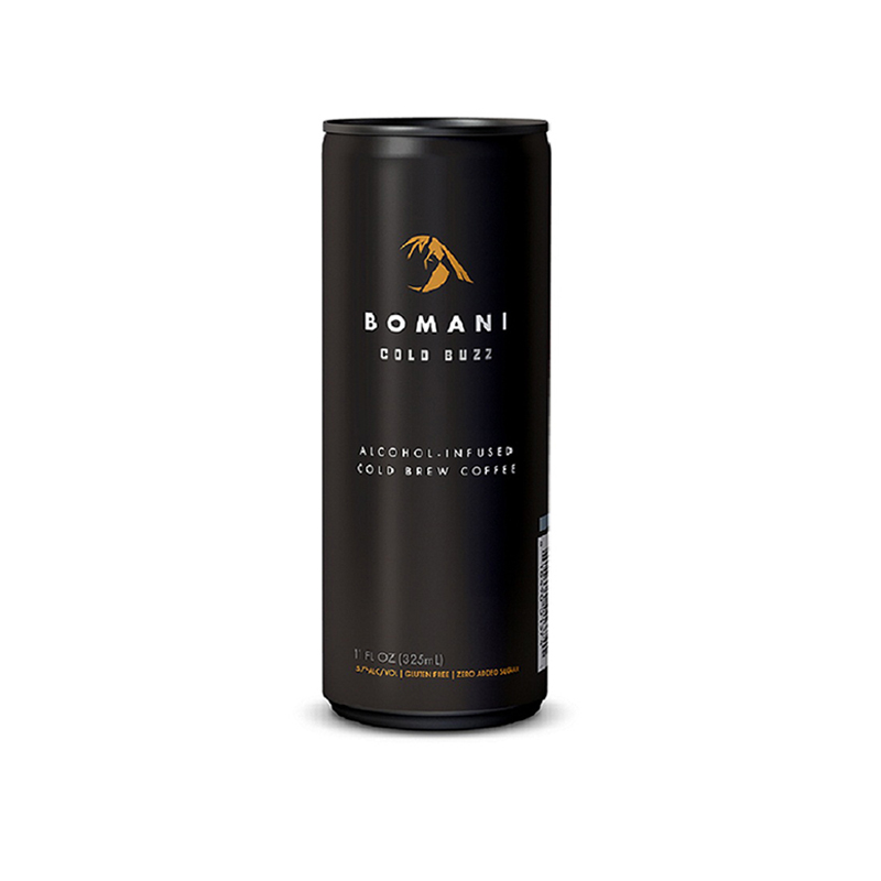 Bomani Cold Buzz Spiked Cold Brew Caffeinated Alcoholic Drinks Martini Coffee Coffee Liqueur Drinks