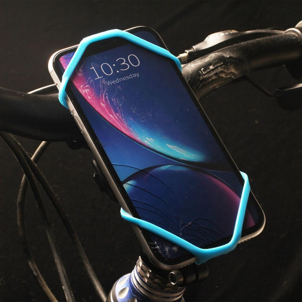 Best Easy Install and Detach Silicon Smartphone Mount on bike