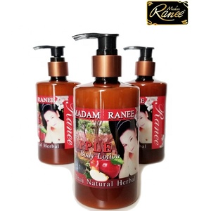 Madam Ranee natural herbal body lotion high quality 100% safe from Thailand manufacturing price private label skin protection